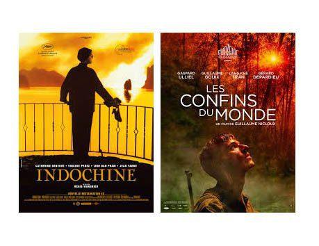 Affiches de films francais sur l'Indochine