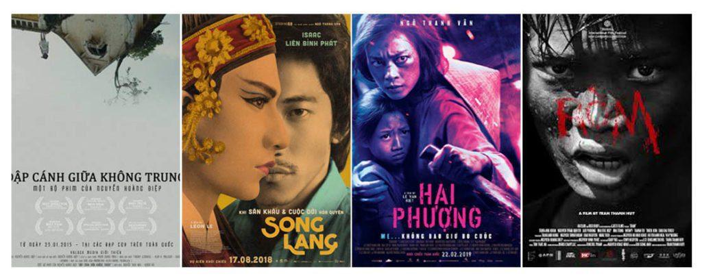 Affiches de films vietnamiens d'aujourd'hui