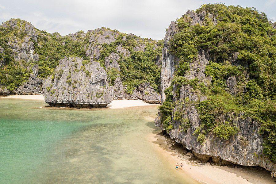 L'ile de Cat Ba pendant l'été, Vietnam