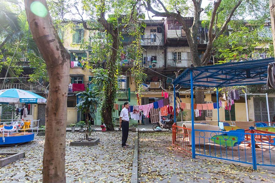 Parties communes d'un Khu Tap Thê