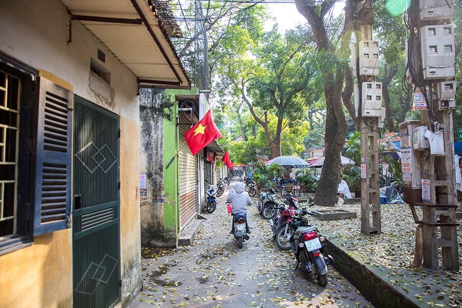 Parties communes d'un Khu Tap Thê, Hanoi
