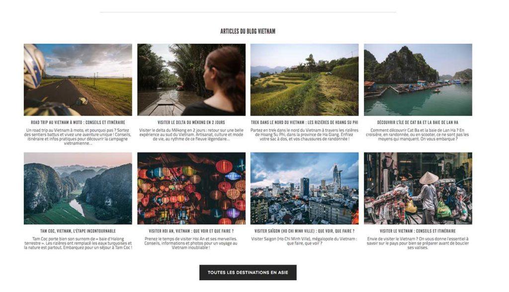 Les articles sur le Vietnam du blog Freelensers