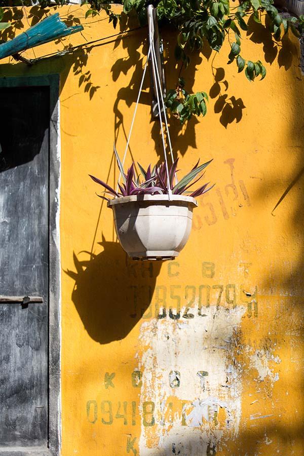 Decoration extérieure, immeuble d'un Khu Tap Thê, Hanoi