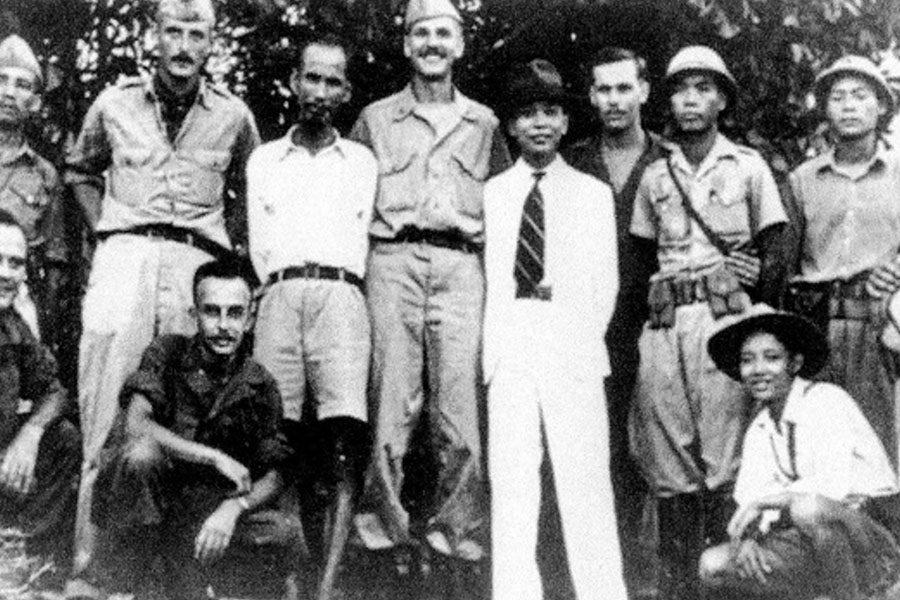 Ho Chi Minh et ses alliés américains
